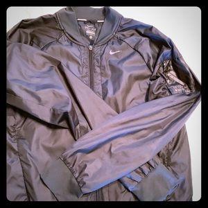 Nike running bomber jacket